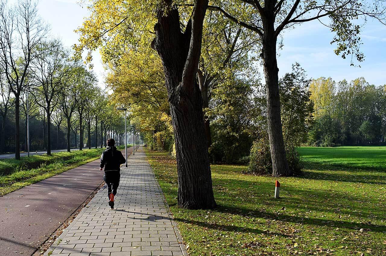 Hardlopen tijdens de koude dagen