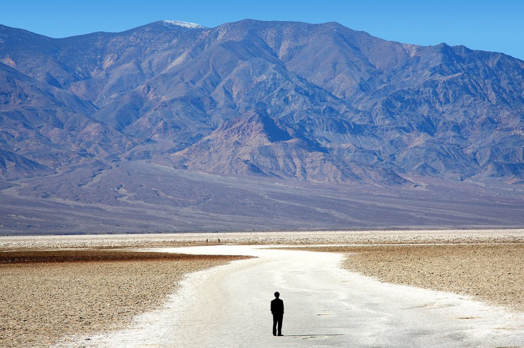 Badwater 135 - Extreme ultramarathon door Death Valley