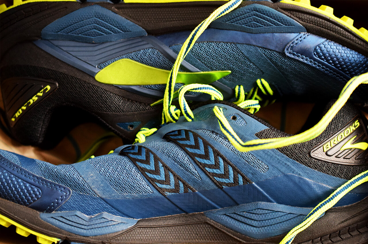 Review van de Brooks Cascadia 12 trailrunning schoen