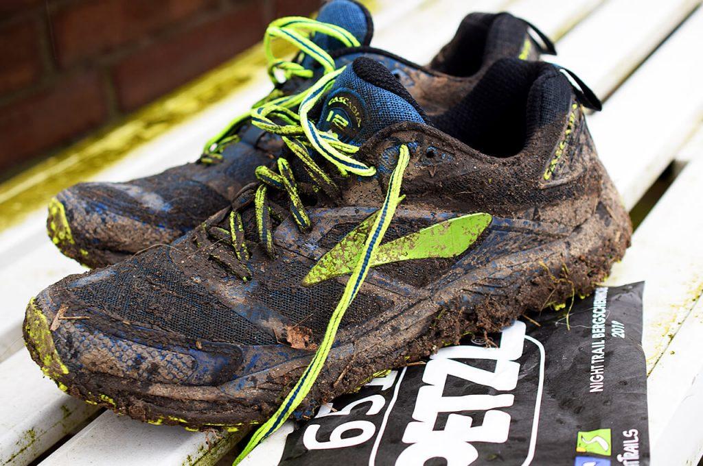 Trailrun schoenen Brooks Cascadia vies na de eerste trailrun