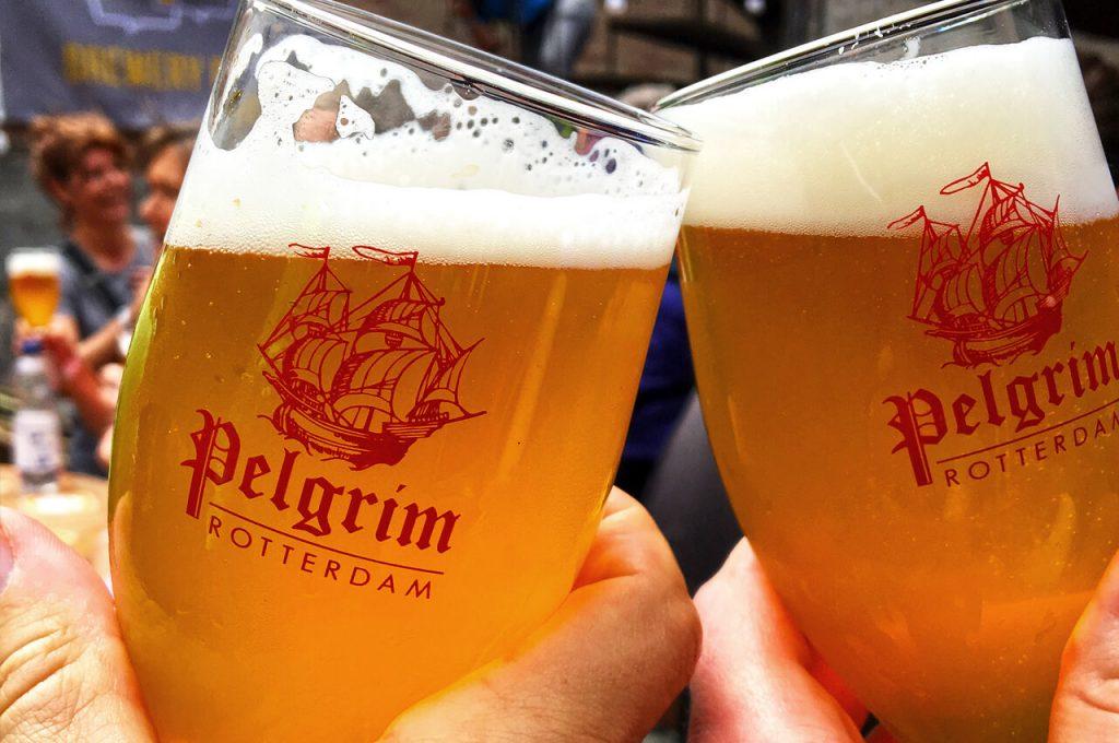 Saison van de Pelgrim, heerlijk fris biertje!