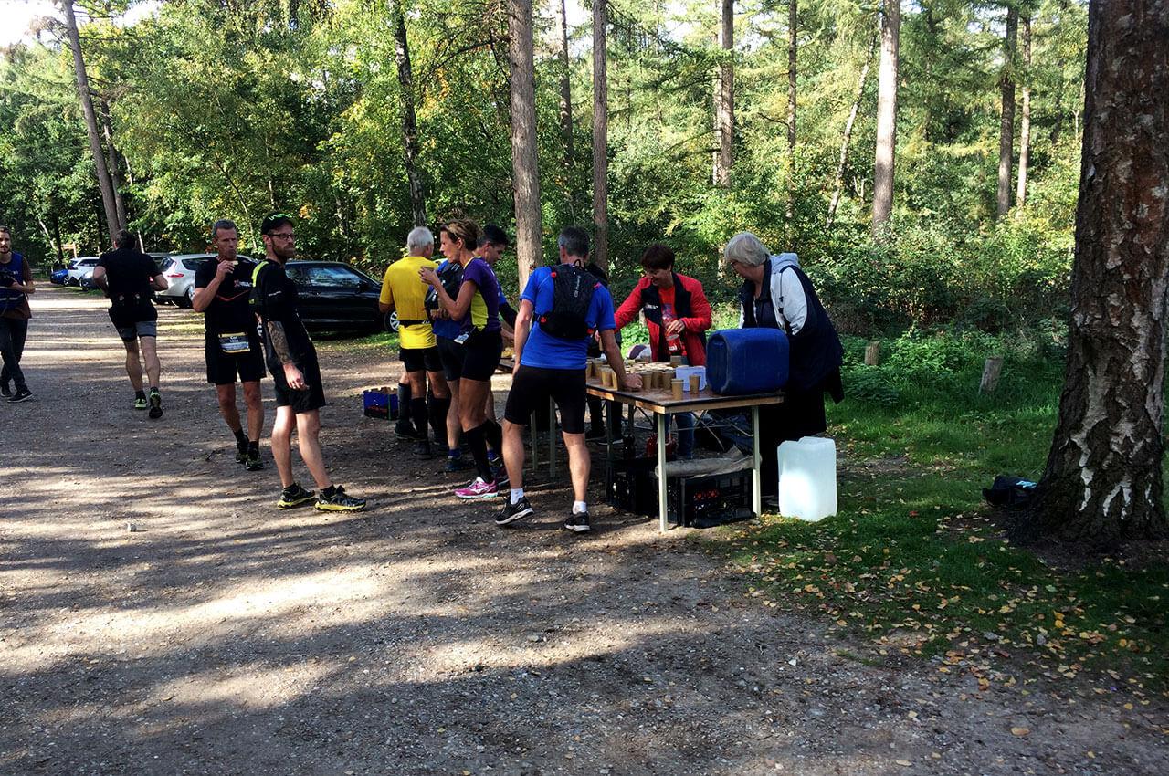 Tweede fourage-punt tijdens de Devils Trail