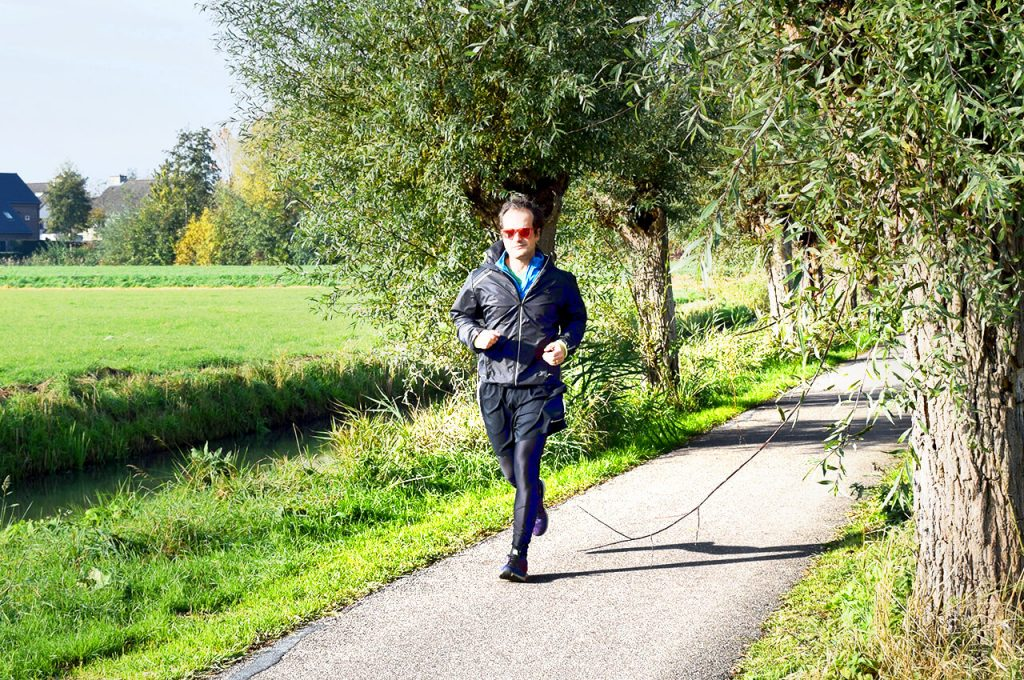 Loop een fartlek-training