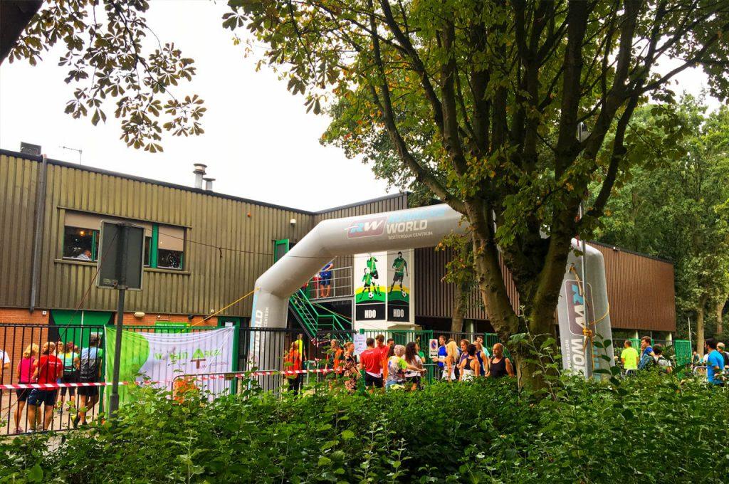 Finish van de Molenweiloop 2019 in Heerjansdam