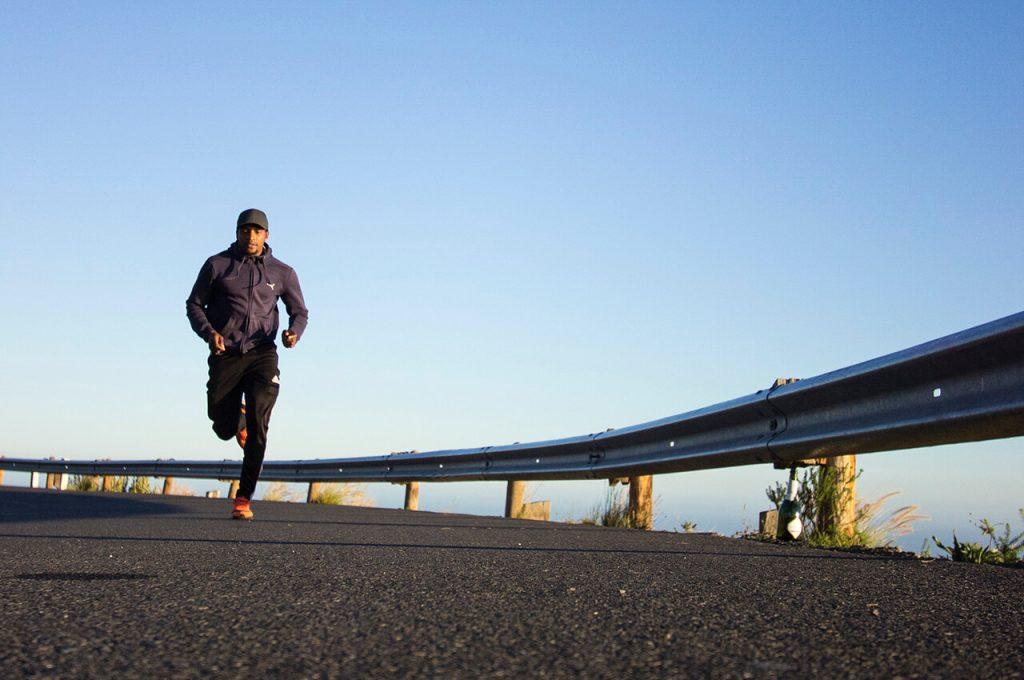 hardlopen in de ochtend