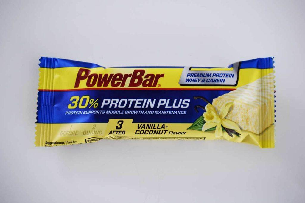 Powerbar proteine bar voor extra eiwitten