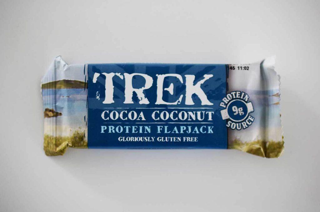 Herstelsnack van Trek met kokos smaak