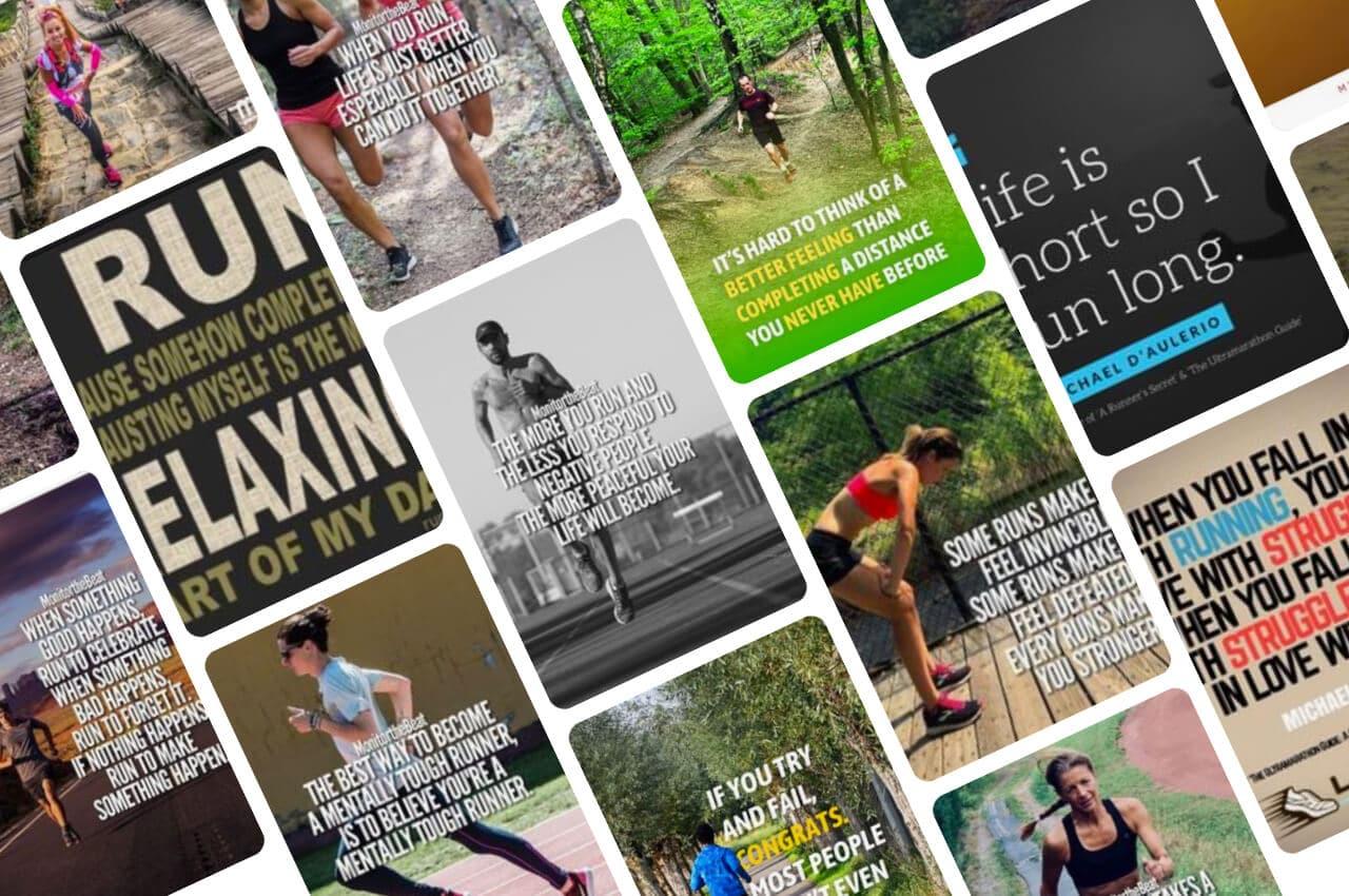 Inspirerende running quotes over hardlopen en trailrunnen