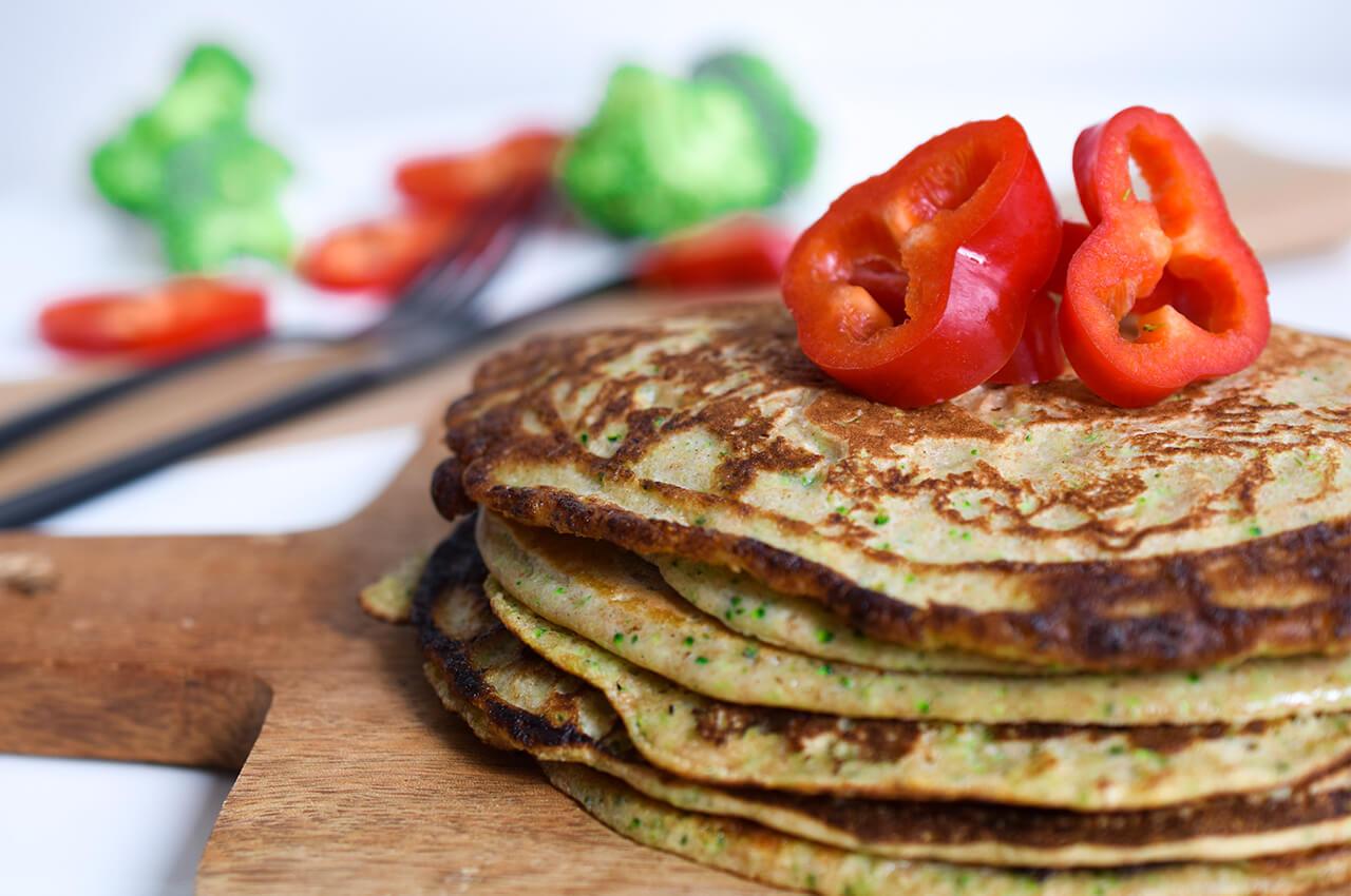 Extra koolhydraten eten door pannenkoeken te nuttigen