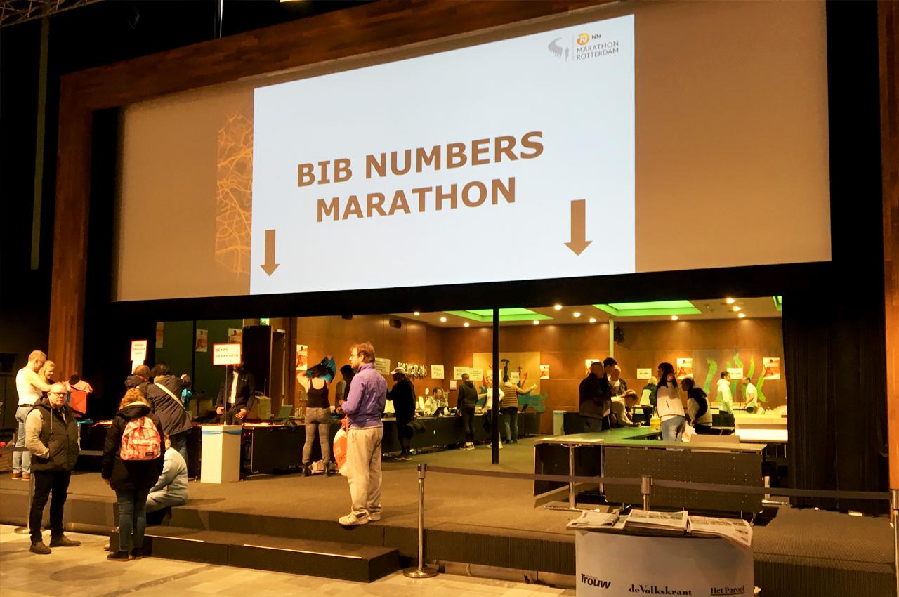 #demooiste marathon dagboek - ophalen van de BIB-nummer