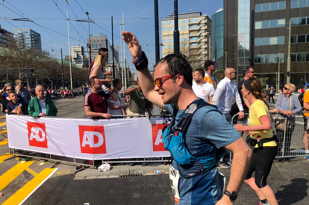marathon van rotterdam 2019 finish