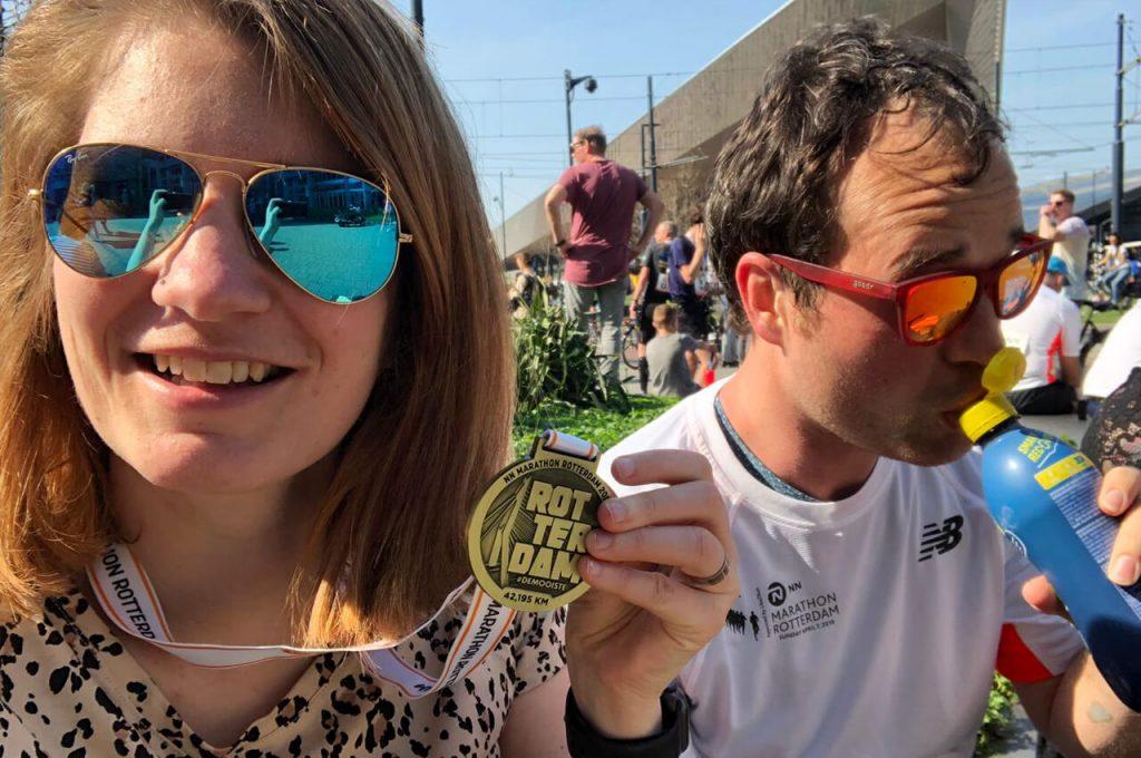 marathon van rotterdam 2019 medaille