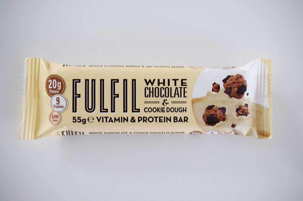 Fulfil proteine bar met witte chocolade smaak