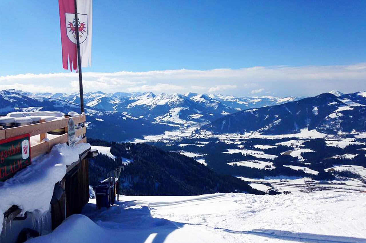 Mijn andere grote sportliefde is skiën