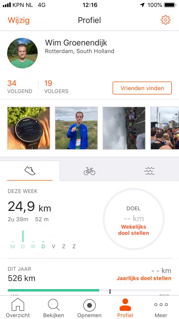 Profiel van Wim Groenendijk op Strava