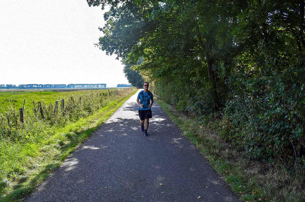 Bezig met mijn duurloop training