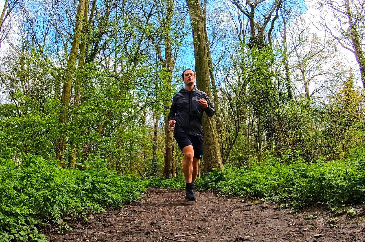 Twee keer per dag hardlopen