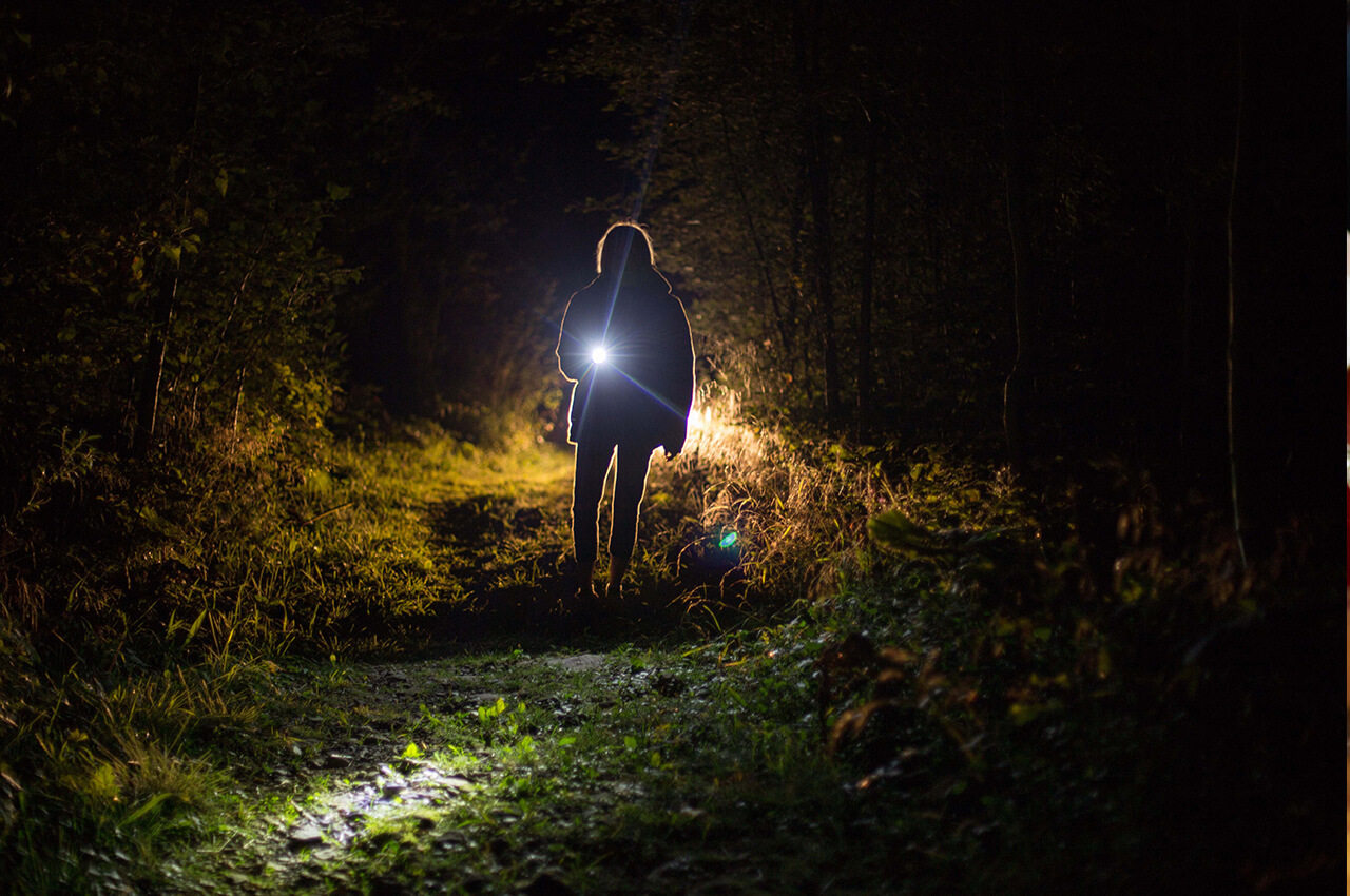 Gebruik verlichting wanneer je gaat hardlopen in het donker