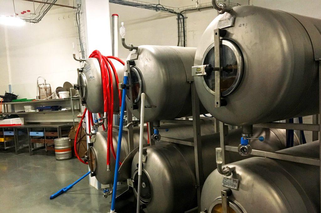 Binnen bij de brouwerij van Vet & Lazy