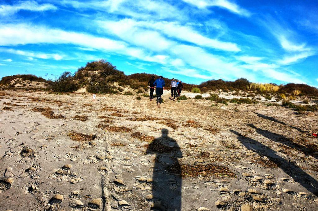 Gedeelte over de duinen in Oostvoorne