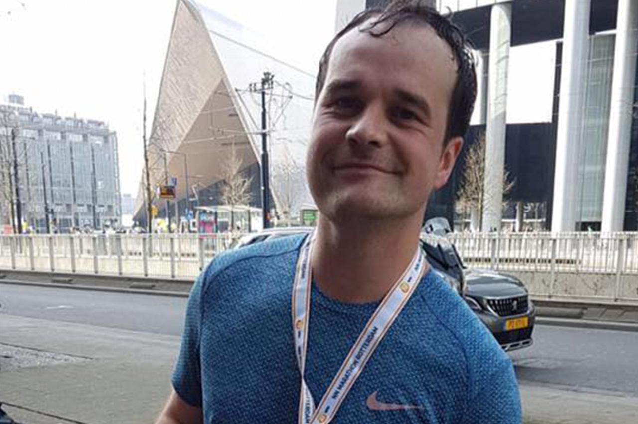 Wedstrijdverslag Marathon Rotterdam met medaille