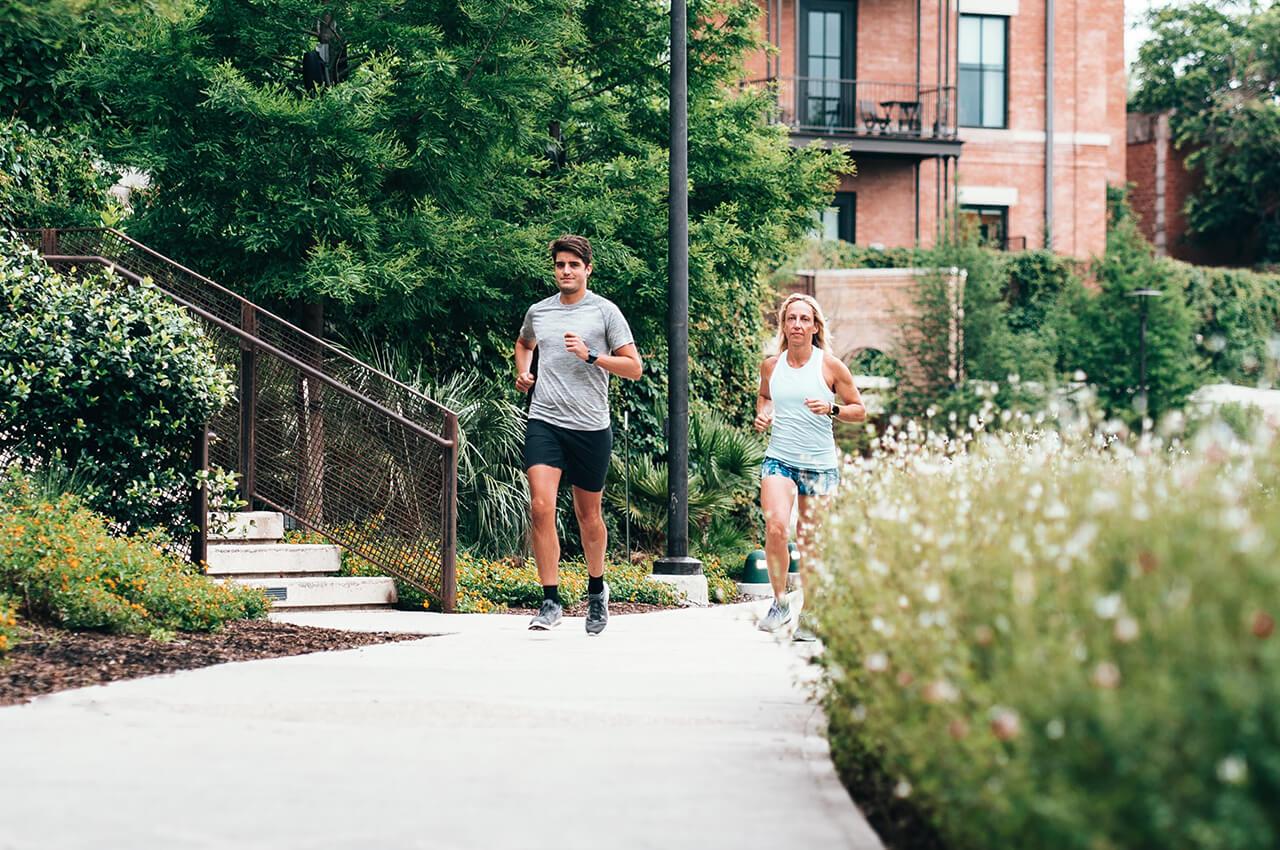 Welke spieren train je met hardlopen?
